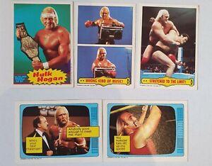 Scanlens WWF Pro Wrestling Cards Hulk Hogan Lot 1986