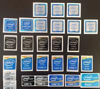 Intel Core i7/i5/i3/pentium/xeon Inside Sticker 3rd/4th/6th/7th Gen Black Badge