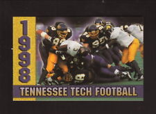 Tennessee Tech Golden Eagles--1998 Football Pocket Schedule