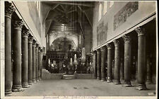 ISRAEL BETHLEHEM Geburtskirche AK Kirche um 1940 Vintage Postcard Church