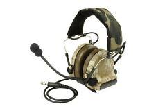 Airsoft ztactical zsordin Boom Micro Casque Radio Peltor comtac 2 AOR1