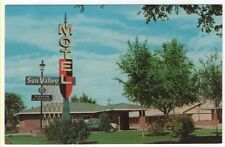 Worland, Wyoming,  Early View of Sun Valley Motel