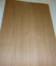 "Walnut wood veneer 11"" x 14"" on paper backer ""A"" grade quality 1/40th"" thickness"