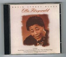 ♫ - ELLA FITZGERALD - BASIN STREET BLUES - 18 TITRES - 1997 - TRÈS BON ÉTAT - ♫