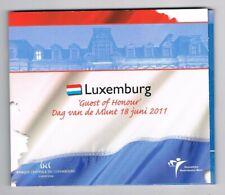 LUXEMBURG  2011 DAG VAN DE MUNT GUEST OF HONOUR EURO 8-COINSET BU BLISTER