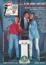 X2556 Canta tu - Giochi Preziosi - Pubblicità 1992 - Advertising