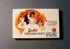 1:6 Play scale Barbie Wedding Gift Set Box 1960s for Barbie House or Diorama