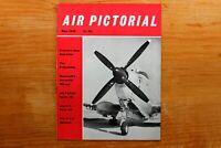 Vtg Original Air Pictorial Magazine 1959 May Dassaults Versatile Mirage