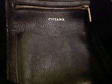Cuyana Structured Zippered Large Leather Tote- Black