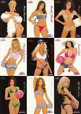 BENCHWARMER 2005 SIGNATURE SERIES COMPLETE BASE CARD SET OF 72 AD