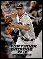 2018 TOPPS STORYBOOK ENDINGS CHIPPER JONES BRAVES #SE-8 INSERT