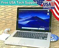 "Apple MacBook Pro Core i5 2.5GHz 13"" Pre-Retina 16GB+256GB SSD+OSX Catalina+Nice"