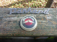 PANHARD Dyna Steering Wheel Horn Button and/or Script emblem name plate 1954-59