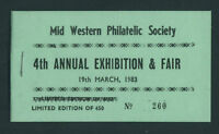 1983  IRELAND  DX38  MWPS  EXHIBITION  BOOKLET - SCARCE