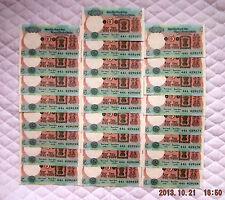 "India ""Jalan Signature"" (1997-03) 5-Rupee {QUARTER-BUNDLE} AU/CU Banknotes: P80s"