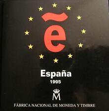 *GUTSE* FNMT, ESTUCHE OFICIAL 2000 PTAS, AÑO 1995, SIN CIRCULAR