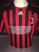 Signed Retro Milan Shirt by Kaka and Clarence Seedorf