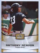 "ANTHONY RENDON 2012 LEAF DRAFT ""GOLD EDITION' ROOKIE CARD! WASHINGTON NATIONALS"