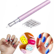1Pcs Nail Art Design Painting Pen Make Up Tools Nail Salon Supply Manicure