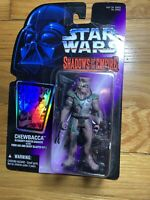 Kenner STAR WARS: SHADOWS OF THE EMPIRE CHEWBACCA BOUNTY HUNTER