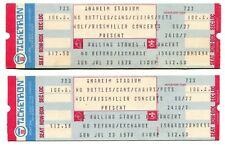 Near Mint Pair, Rolling Stones Concert Tickets, 1978 Anaheim Stadium Some Girls