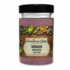 Sumach gemahlen 330ml Glas Dose Gewürze Shop - inkl. Versand
