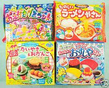 NEW 4 PCS SET Kracie popin cookin JAPANESE CANDY MAKING KIT sushi gummy Ramen
