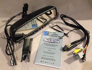 NEW Compass Temp OnStar® Mirror w/DUAL Camera Display For 03-06 Chevy Silverado