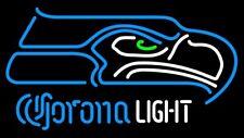 "New Corona Light Seattle Seahawks Neon Sign 20""x16"" Bar Pub Gift Light Lamp"