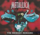 """CD METALLICA """"THE MEMORY REMAINS"""", 3 TITRES, D'OCCASION, TRES BON ETAT"""