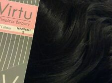 Virtu by Stranded 'lacey' Half Head Wig in 13 Colours 2 - Expresso Brown