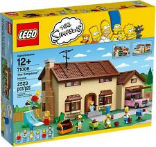 LEGO THE SIMPSONS COLLECTIONNEURS 71006 LA MAISON DEI SIMPSON NEUF