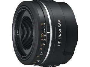 Objetivo - Sony DT 50 mm, f/1,8 SAM