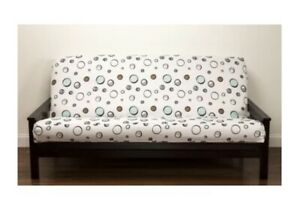 Full Robin's Roost SIS FUTON Cover new in package Blue Brown White Black