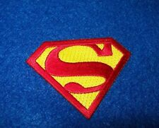 SUPERMAN  on embroidery patch - 2.0 X 2.0 INCHES  CLARK KENT MAN OF STEELE
