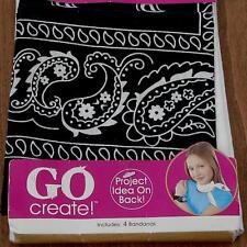 GO Create Bandana Value Pack - Includes 4 Bandanas - BRAND NEW IN PACKAGE