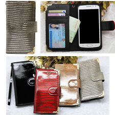 Lumiel Snake Wallet Case for Samsung Galaxy Note10 Note9 Note 8 5 Edge 4 3 NEO