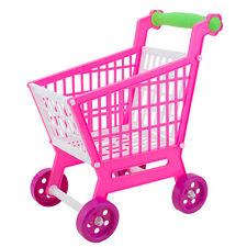 11.8'' Mini Supermarket Shopping Cart Pretend Play Playset Kids Toddler Toys
