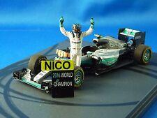 1/43 Mercedes F1 W07 Hybrid, Nico Rosberg in Abu Dabi GP 2016