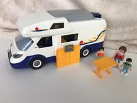 Playmobil 4859 Camper Van With Figures And Accessories Caravan 2011