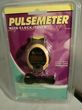 Oregon Scientific Digital Pulsemeter Model Pm138E w/clock stopwatch