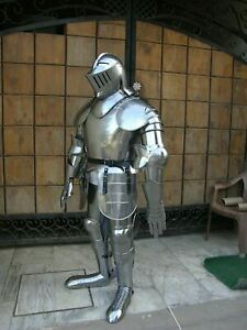 Medieval Knight Crusader Wearable Suit Armor Gothic Full Body Armor Handicraft6