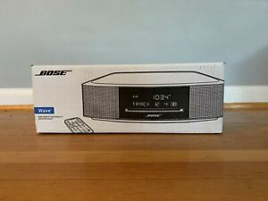 NEW Bose Wave Music System IV w/ Remote, CD Player  Espresso Black SHIPS TODAY