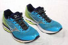 Mizuno Wave Rider 19 Trainers Sneakers Running Shoes Blue Men's UK 10 EU 44.5!