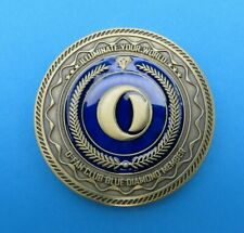 OLIGHT Blue Diamond Challenge Coin Rare Limited Edition Collectors Item