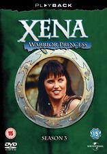 DVD:XENA - WARRIOR PRINCESS - SEASON 3 - NEW Region 2 UK