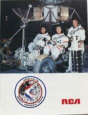Apollo 15 Crew Signed Lithograph Scott, Irwin & Worden Zarelli Authenticated