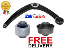 FOR PEUGEOT 308 FRONT LEFT LOWER TRACK CONTROL WISHBONE ARM & 2 BUSHES NEW