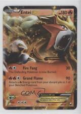 2012 Pokémon Dark Explorers Base Set #13 Entei EX Pokemon Card 2ts