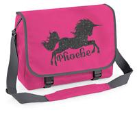 Personalised Unicorn Messenger Bag Back to School Bag Kids Shoulder Girls Bags